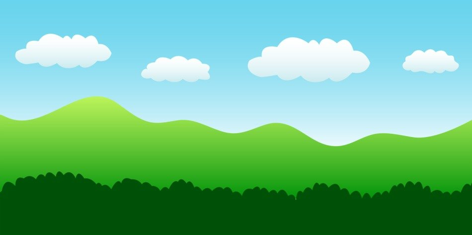 Cartoon Landscape ClipArt