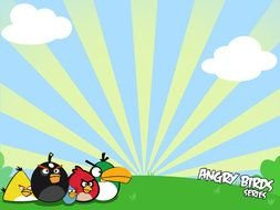 Angry Bird Templates drawing