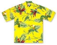 shirt in Hawaiian style