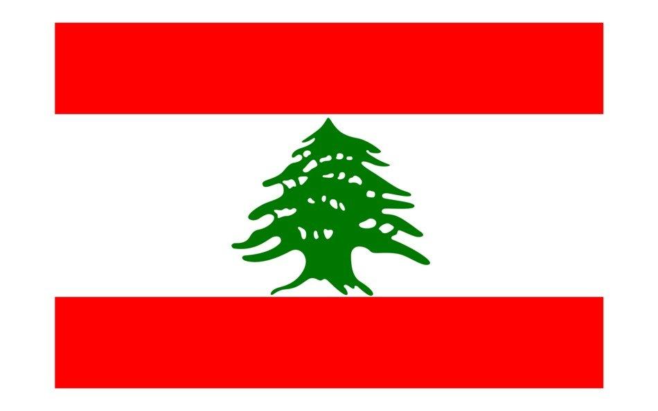 Lebanon Flag drawing