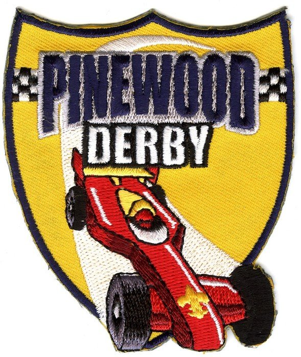 logo for Pinewood Derby racing