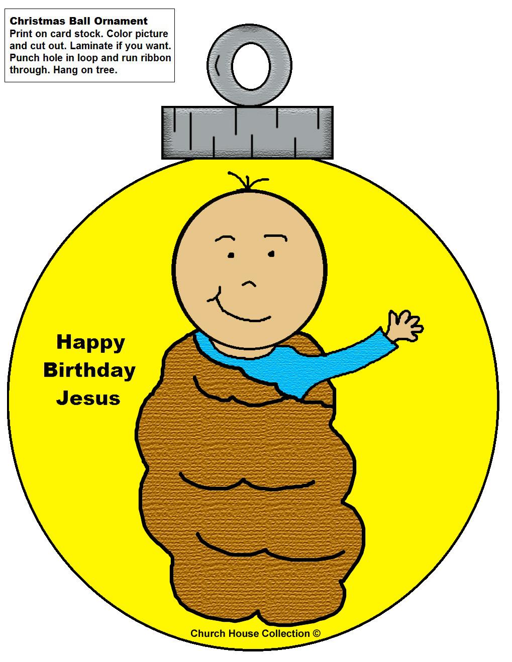 Happy Birthday Jesus Clipart Free Image Download