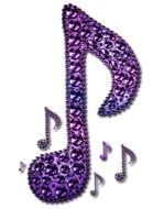 Rainbow Music Notes Clip Art N4
