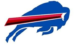 big blue Buffalo Bills Logo drawing