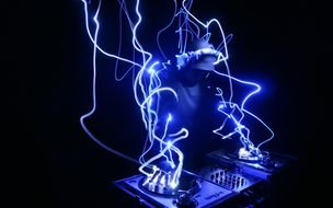 clipart of the Neon DJ