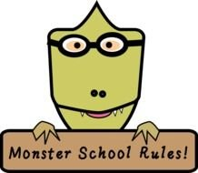 Monster School Rules! clipart