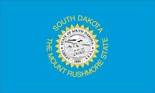 clipart of the South Dakota State Flag