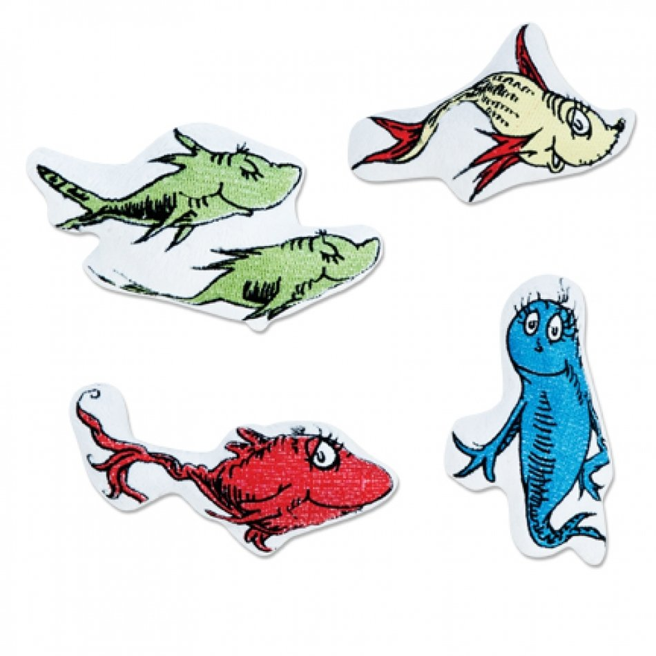 Different cartoon fishes clipart