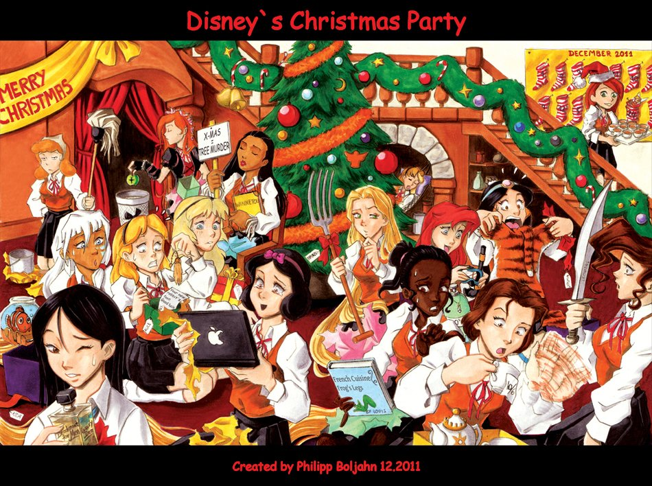 Disney Christmas party