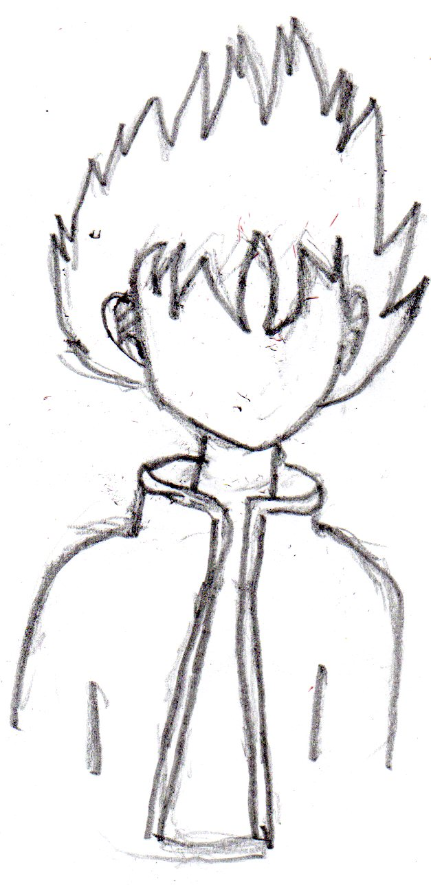 Anime Boy Body Drawings Free Image