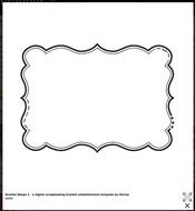 plaque shapes templates pictures free image