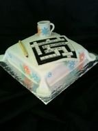 Crossword Puzzle Cake Images