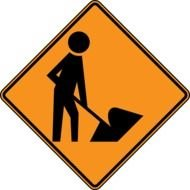 Construction Zone Signs Clip Art N8