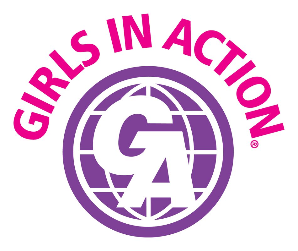 Girls In Action Southern Baptist Logo drawing