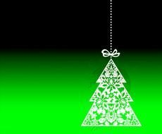 Christmas Tree Decorations Xmas Decor Design Digital Clipart Clip