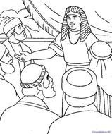 Joseph And His Brothers Coloring Page N2