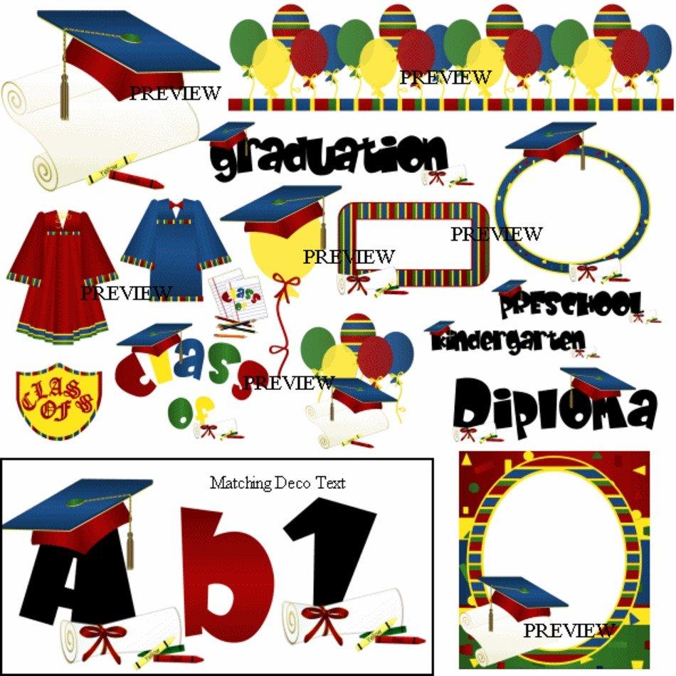 Preschool Graduation Clip Art N28