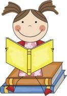 Reading Clip Art drawing