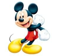 happy Disney Mickey Mouse drawing