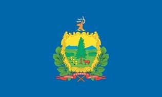 flag of state of Vermont as a picture for clipart