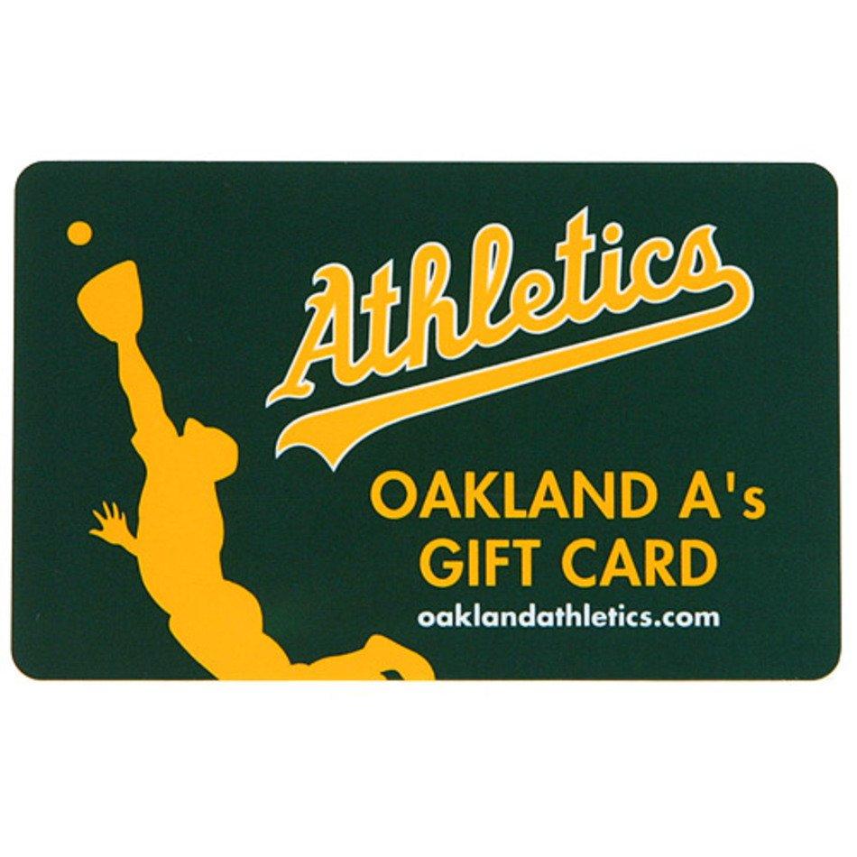 quality design 337d4 40904 Oakland Athletics $5000 Gift Card MLB Shop free image