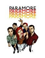 Paramore as a graphic illustration