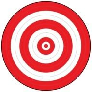 photo regarding Printable Bullseye Target named Printable Bullseye Concentrate free of charge picture