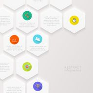 Vector colorful info graphics for your business presentations