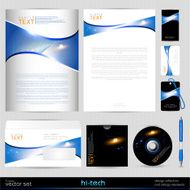 Vector Template Background Design elements