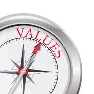 Values compass direction