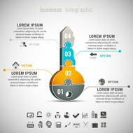 business infographic key advice