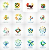 Abstract icon vector collection N2
