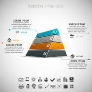 business infographic computer icon