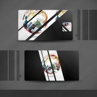 Grey Business Card Design