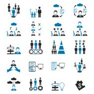 Business related icons set