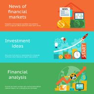 Business concepts News of markets investment ideas and financial analysis