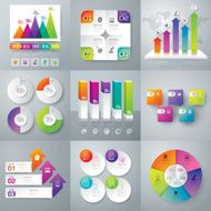 Infographic design template and marketing icons N2