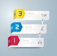 Infographic design template and marketing icons N3