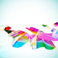 Multicolor abstract bright background Elements for design