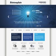 Website Template N7