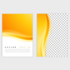 Yellow Vector abstract background design