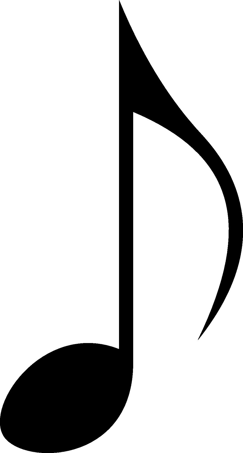 Music note symbol black sound free image