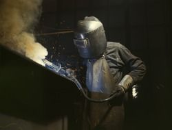 weld welder steel industry