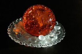 amber crystal ball
