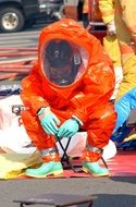 decontamination suit