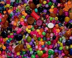 colorful beads craft