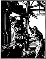 machine industry factory labor