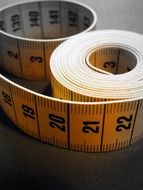 numbers on tape measure