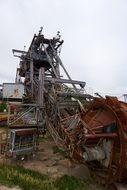 bucket wheel excavator for coal mining