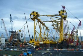 solan project shipyard oil rig